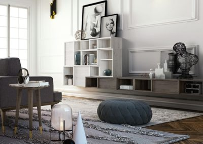 meubles séjour modernes Aoste