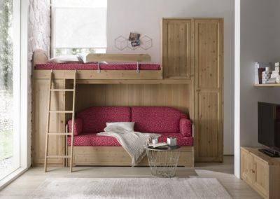 chambre d'enfant classique lits superposés Aoste