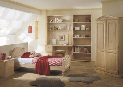 chambre d'enfant classique en bois Aoste