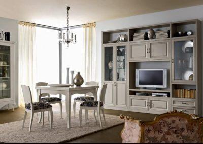 meubles classiques coin séjour Vallée d'Aoste