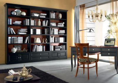 libreria classica nera Aosta