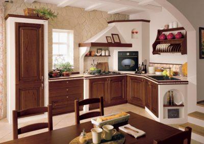 cuisine de maçonnerie classique Aoste