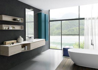 bagno moderno Val d'Aosta