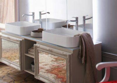 mobile bagno classico doppio lavabo
