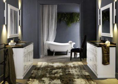 bagno classico design Valle d'Aosta