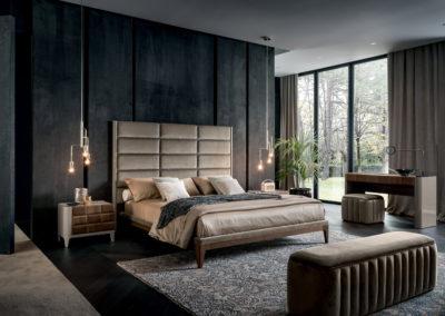 camera da letto design Valle d'Aosta