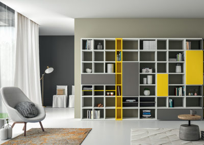 bibliothèque moderne Aoste