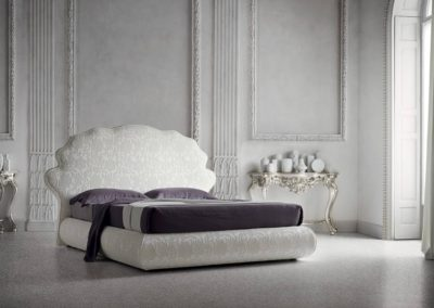 letto classico bianco Aosta