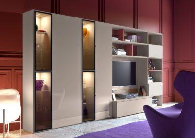meubles coin séjour modernes Vallée d'Aoste