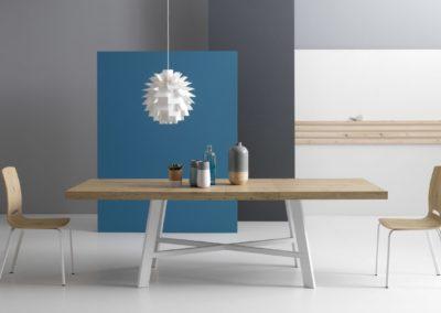 tavolo moderno in legno Aosta