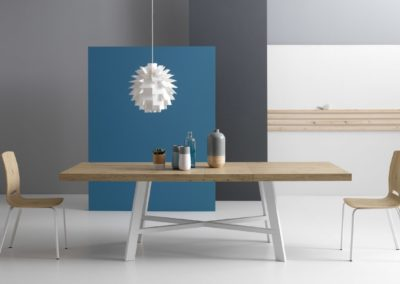 table moderne en bois Aoste