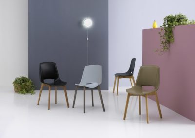 chaises modernes Vallée d'Aoste