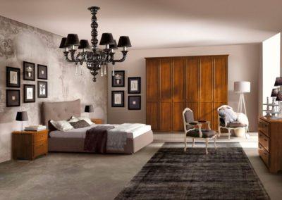 camera da letto classica Valle d'Aosta