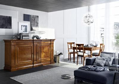 meubles classiques coin séjour Aoste